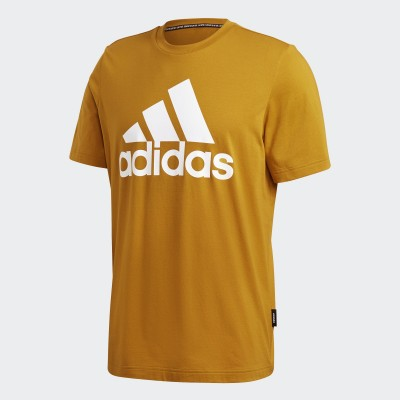 ADIDAS T-SHIRT MUST HAVES BADGE OF SPORT LEGACY GOLD