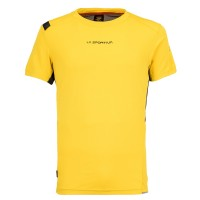 LA SPORTIVA BLITZ T-SHIRT M YELLOW/CARBON