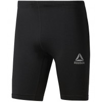 REEBOK RE SHORT TIGHT BLACK