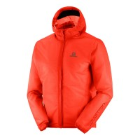 SALOMON BONATTI RACE WP JKT M CHERRY TOMATO