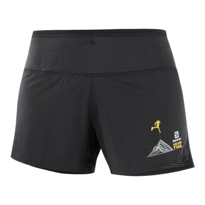 SALOMON SENSE SHORT W BLACK GOLDEN TRAIL SERIES