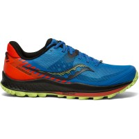 SAUCONY PEREGRINE 11 ROYAL/SPACE/FIRE BLUE
