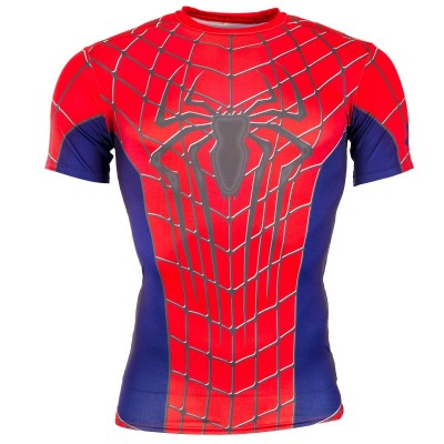 T-Shirt Under Armour Spiderman Compression