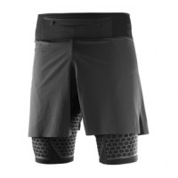 SALOMON  EXO TWINSKIN SHORT M BLACK