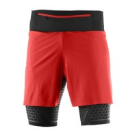SALOMON  EXO TWINSKIN SHORT M MATADOR/BLACK