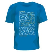 T-Shirt No Edge Blue