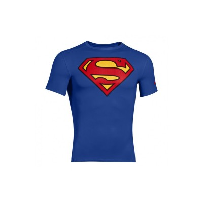 T-SHIRT UNDER ARMOUR ALTER EGO COMPRESSION SUPERMAN
